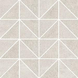 OPOCZNO KEEP CALM GREY TRIANGLE MOSAIC MATT 29x29 GAT I