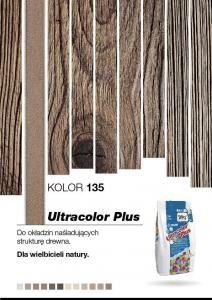 MAPEI ULTRACOLOR PLUS 2kg złoty pył 135 GAT I